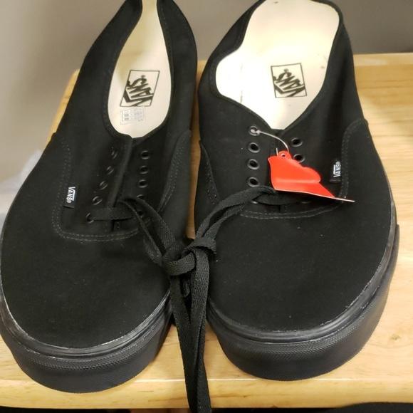 Vans Shoes | Black Mens Size 16 | Poshmark